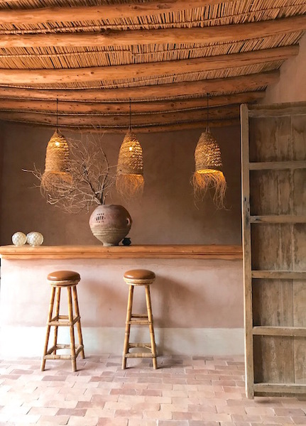 Berber Lodge Woven Lampshades