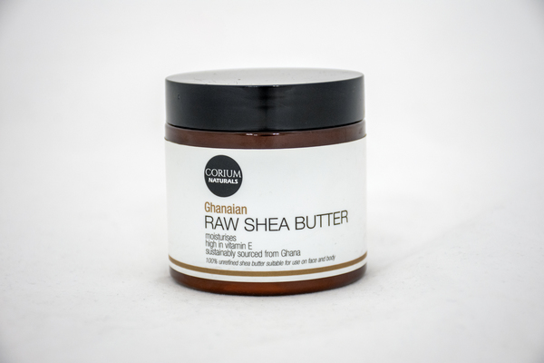 Grade A, ivory shea butter which has been sourced in Ghana and re-packaged in South Africa. This Raw Shea Butter may be used alone or may be mixed with other butters and oils. Shea butter is a plant lipid that comes from African shea tree nuts and is rich in fatty acids, antioxidants, and vitamins. This a pure, one-ingredient product and this shea butter is not mixed with any oils or any additives. Please visit our blog to read our article on shea butter. https://coriumskincare.blog/meet-shea-the-butter-with-101-uses/