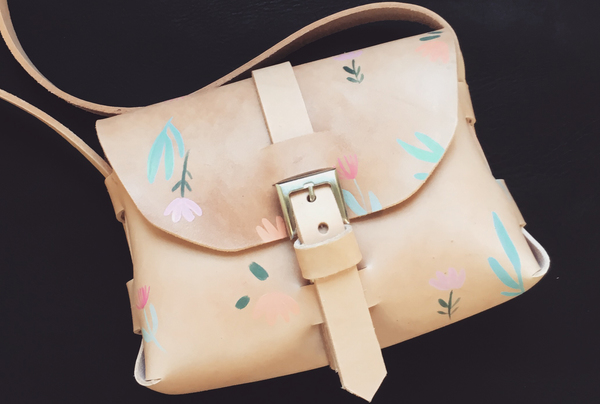 Hand painted Signature Sling - blooms