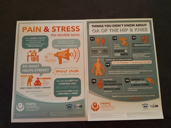 """""""Stress & Pain""""/""""OA in the Hip & Knee"""" - A5 Flyers (Pack of 50)"""