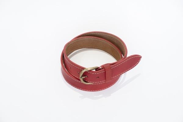 Red Belt - stitched