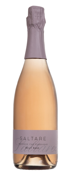 The Brut Rosé is has a seductive salmon-tinted colour and is made from 100% Pinot Noir grapes. It spends 18 months on the lees. Perfect for a late afternoon wind-down with fruit and nuts.