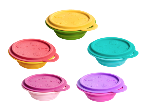 Silicone Collapsible Baby Bowl