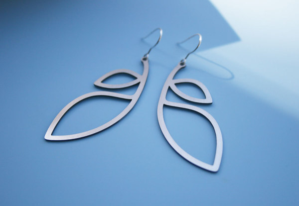 Leaflet Earrings