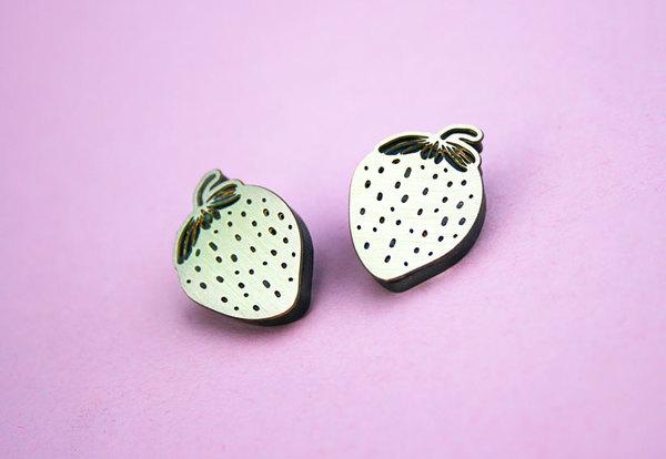 Strawberry Studs