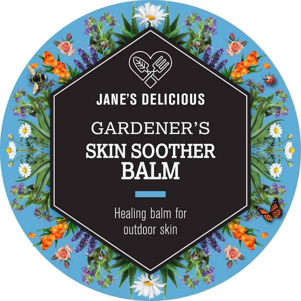Jane's Delicious Gardener's Skin Soother Balm 50g