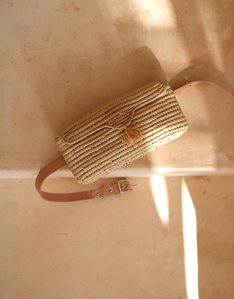 Woven Fanny Bag