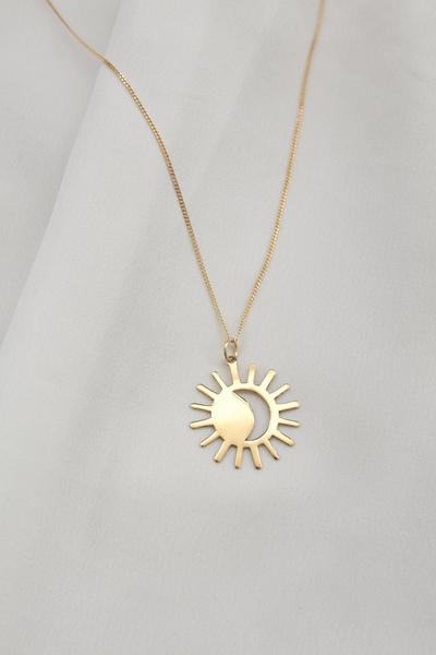 Time Stays, We Go Necklace