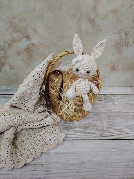 New Born Blessing Box - Bunny