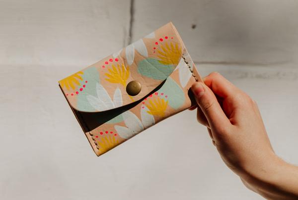 Hand painted Mini Purses - spring