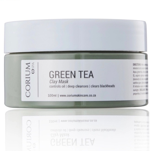 CONTROLS OIL | DEEPLY CLEANSES | CLEARS BLACKHEADS  Suitable for:This is perfect for oily skin that is acne-prone. If you get those annoying blackheads, this is good for you too. The green tea component also increases hydration levels, giving you that youthful glow  The Green Tea Clay Mask has been formulated to deliver superior hydration and moisturisation. Its active ingredients include Panthenol (Vitamin B5) which attracts moisture from the atmosphere and locks it inside the skin cells. When used consistently, it alleviates itchiness. This mask may be used by anyone looking to pack extra hydration and moisture into their skin and has a rich serum-like feel to it.The Green Tea Clay Mask contains ingredients such as Argan Oil, Aloe Vera, Coconut and Olive Oil. Argan helps to reduce acne scarring, while Aloe Vera plays a very important role in soothing the skin. The Coconut and Olive oils boost moisture, ensuring that your skin feels soft and supple  Vitamin E, also in the mask, can block free radicals in the skin so it's able to age slow, prevents wrinkles and fine lines. It's also an anti-inflammatory – when it comes into contact with the skin, it has a soothing effect which is perfect for those with sensitive skin.  DOES NOT CONTAIN: Propylene Glycol, Parabens, Diethanolamine (DEA), Triethanolamine (TEA), Monoethanolamine (MEA), PVP/VA Copolymer, synthetic colours / fragrance , EDTA, Phthalates and Talc.
