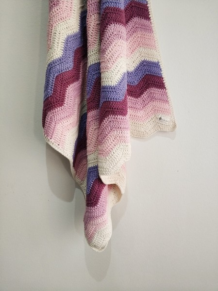 The Grace Blanket (Pink Rainbow)