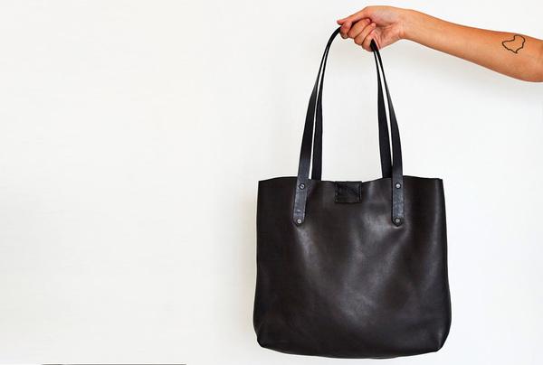 Soft Tote Bag - Onyx