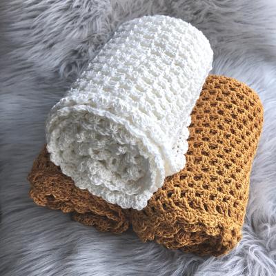 Crochet Bamboo Blanket