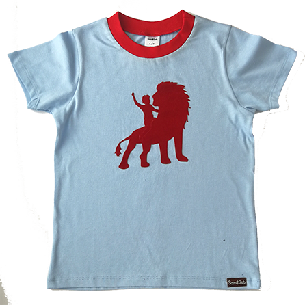 Locally produced from start to finish Flocked velvet print on 100% cotton tee Sizes 2-3 Y, 3-4 Y, 4-5 Y, 5-6 Y, 7-8 Y, 9-10 Y, 11-12 Y
