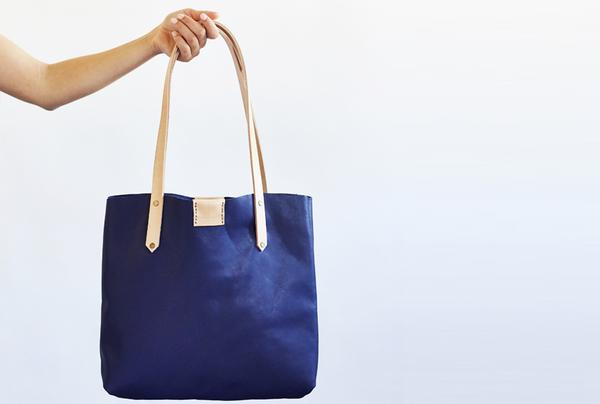 Soft Tote Bag - Indigo