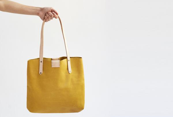 Soft Tote Bag - Marigold