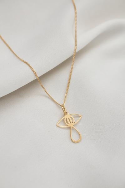 Velvet Eye Necklace