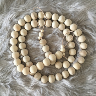 Wood Bead Garlands