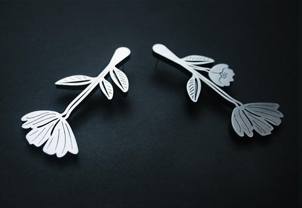 Poppy Seed Earrings