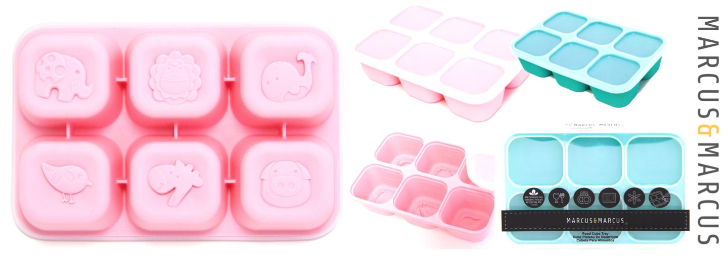 Food cube tray slider