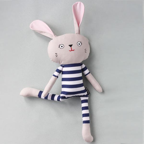 Pyjama Bunny - Bold Navy Stripe