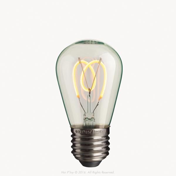 Petite Pear LED Light Bulb