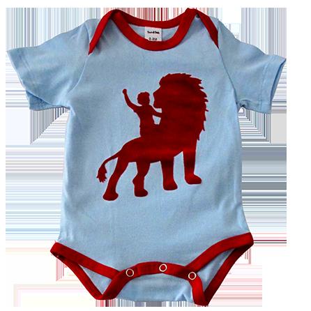 Boy on Lion onesie