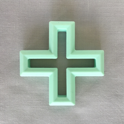 Silicone Teether - Swiss Cross