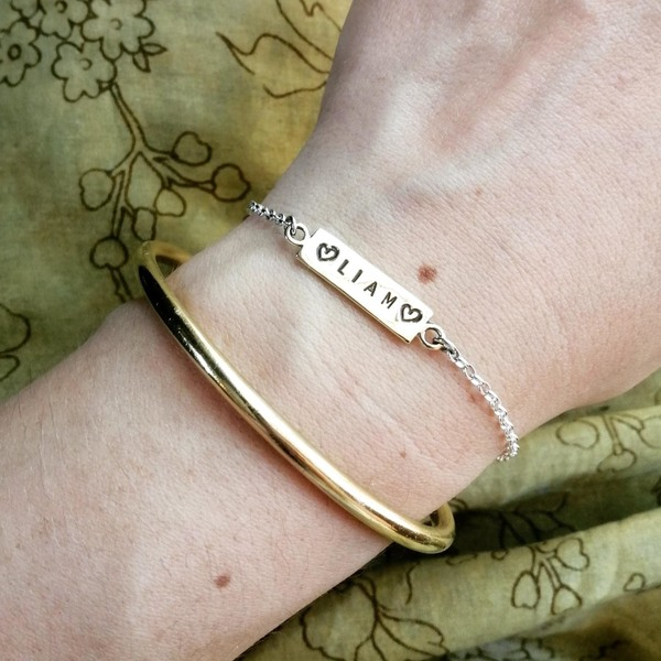WEAR YOUR HEART ON YOUR SLEEVE Bracelet