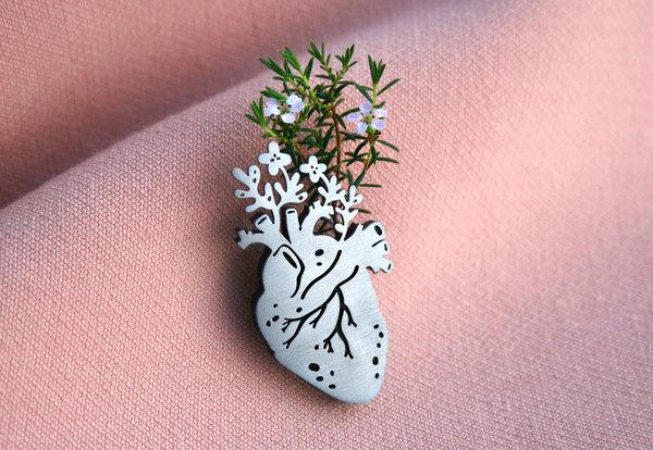Fertile Heart Pin