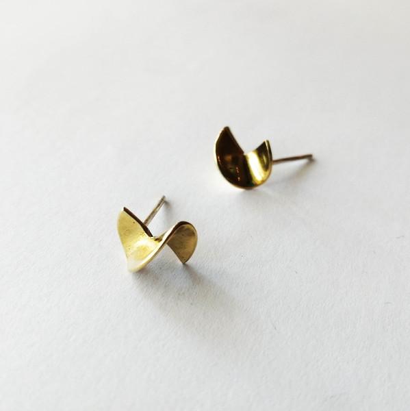 TEENY TINY TWISTY Stud Earrings