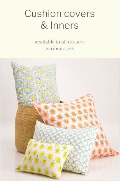 Cushion Covers, Pillow Cases & Inners