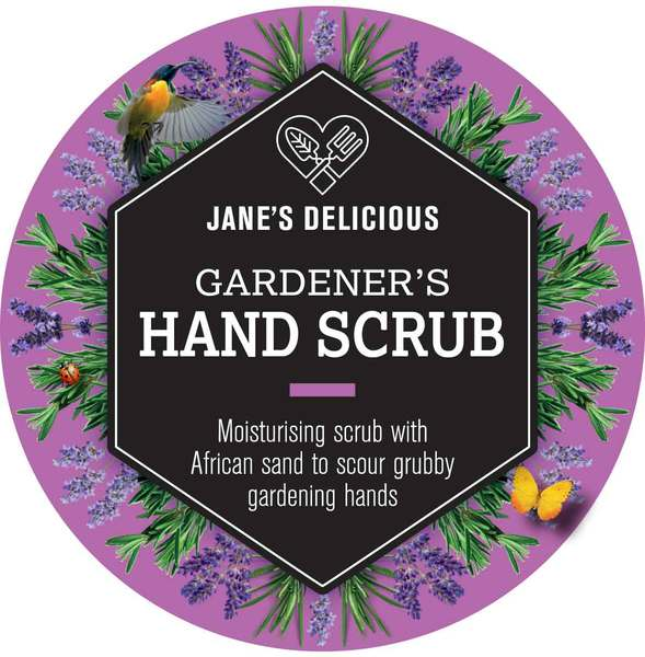 Jane's Delicious Gardener's Hand Scrub.    200g