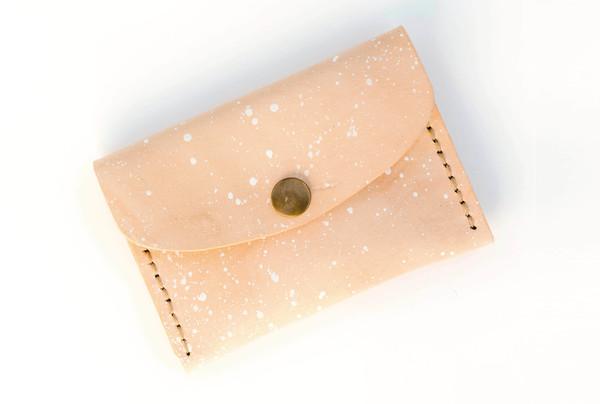 Mini purse - speckles