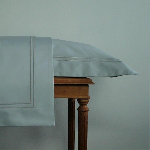 Signature Collection - Oxford Double Satin Stitch Pillowcases (2) - Breeze