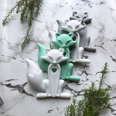 Silicone Baby Teethers - Fox