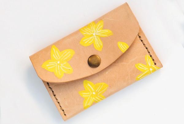 Mini purse - lemon