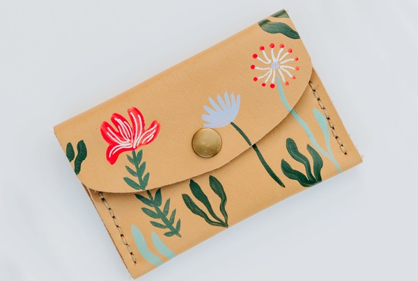 Mini purse -eternal garden