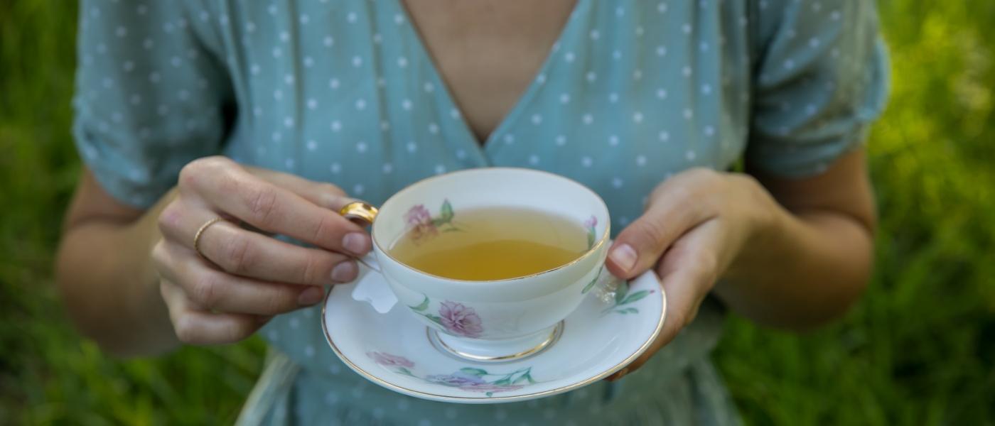 Tea cup 2 larger